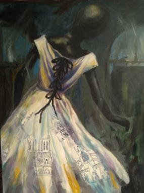 Dress painting